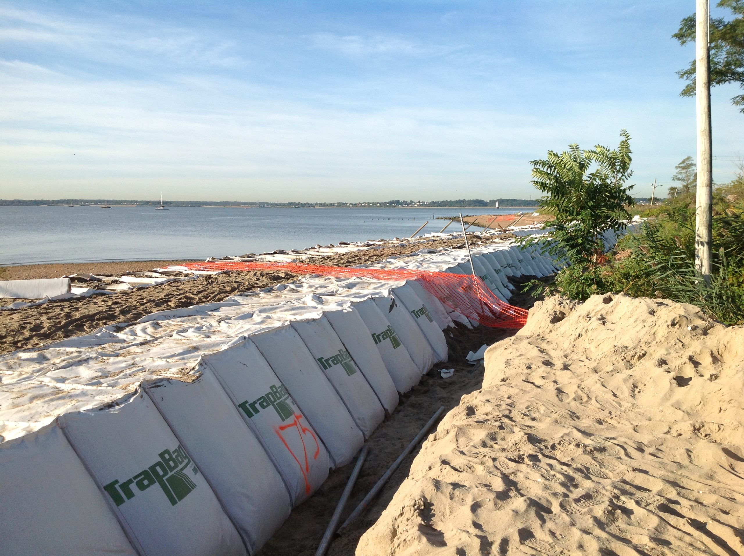 TrapBag used for Dune Stabilization and coastal management