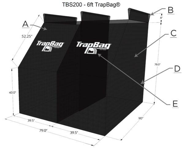TrapBag 6 foot