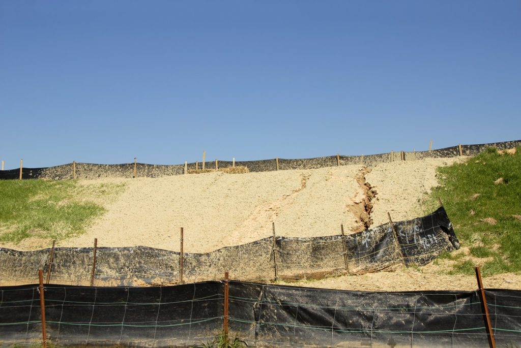 silt fencing for erosion control