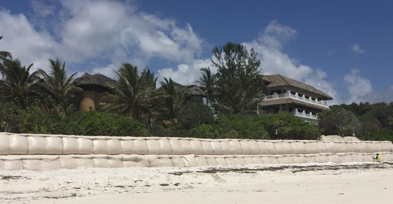 Watamu Beach Restoration Using TrapBag®