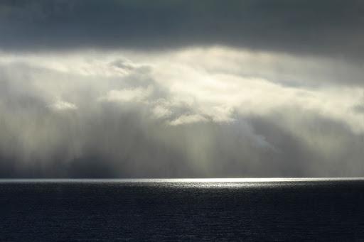 Louisiana hurricane storm clouds