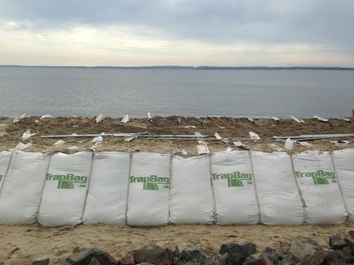 new york sand dune protection retaining wall