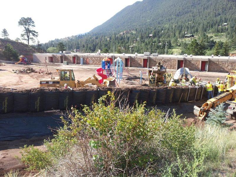 Mudslide & Debris Flow Control in Manitou Springs, Colorado