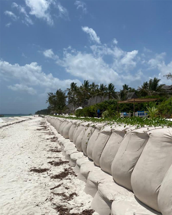 Preventing Soil Erosion & Desertification in Africa with Erosion Bags
