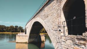 Bridge going over water